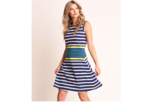 Hatley Hatley Sarah dress - navy stripes
