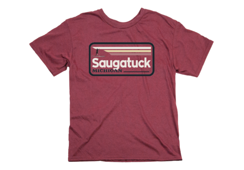 TechStyles Techstyles Saugatuck Paddle Boarder T-Shirt