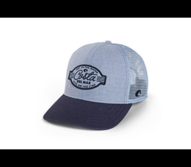 Costa XL Trucker Feet in the Water Hat