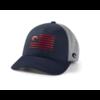 Costa Costa Twill Trucker Pride Logo Hat - Navy