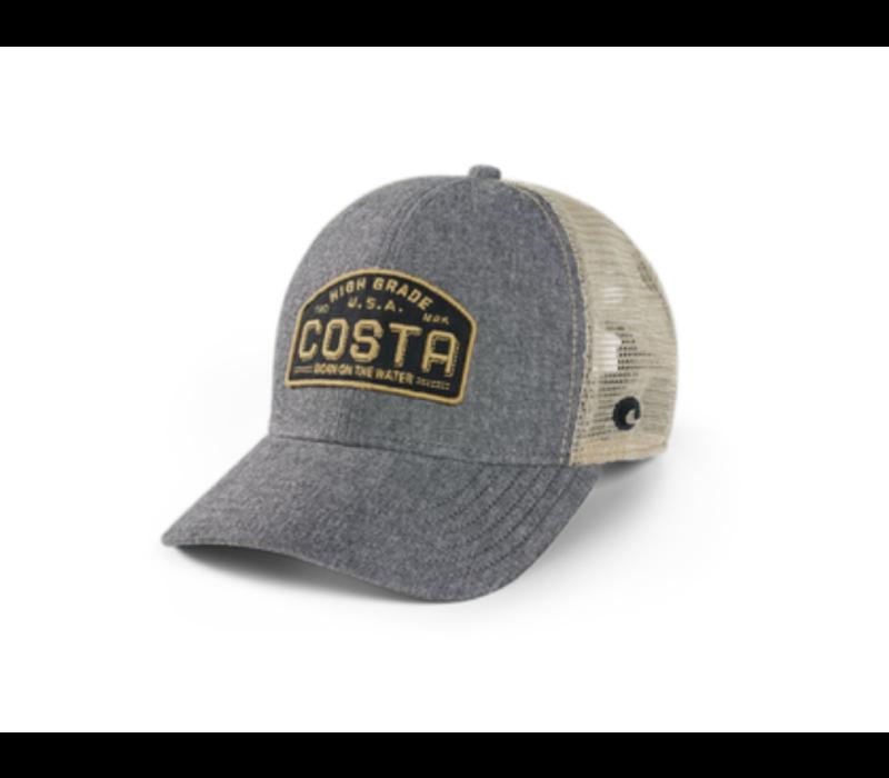 Costa Regular Fit Trucker High Grade - Gray