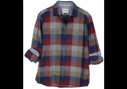 Flag & Anthem Flag & Anthem Bellefonte L/S Flannel Double Pocket Shirt