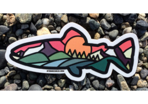 Atomic Child Atomic Child Trout Sticker