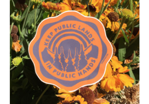 Atomic Child Atomic Child Public Lands Sticker