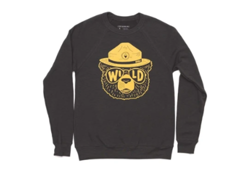 Keep Nature Wild Keep Nature Wild-Wildbear Raglan Pullover