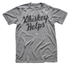 Solid Threads Solid Threads Whiskey Helps T-shirt