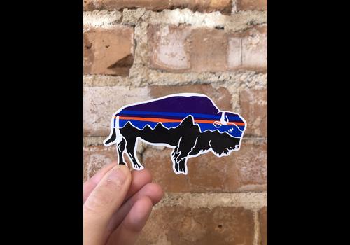 Patagonia Patagonia Fitzroy Bison Sticker
