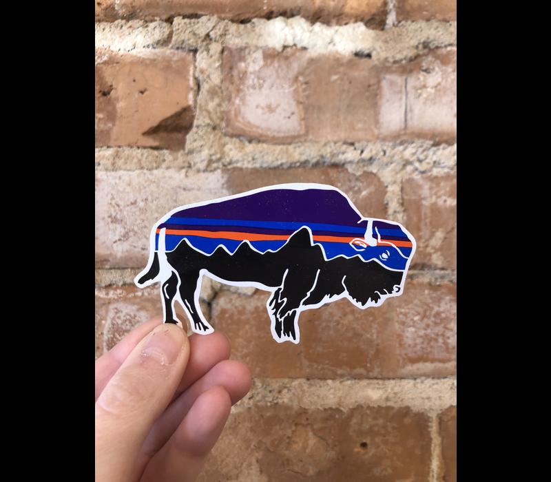 Patagonia Fitzroy Bison Sticker