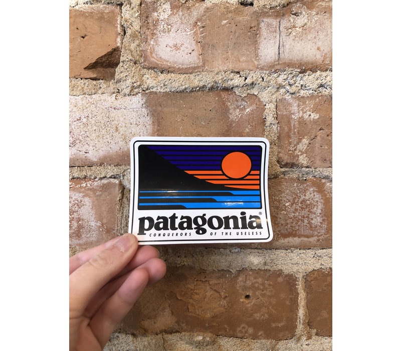 Patagonia Up & Out Rectangle Sticker
