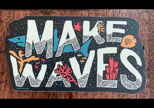 Atomic Child Atomic Child Make Waves Sticker