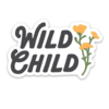 Keep Nature Wild Wild Child Sticker