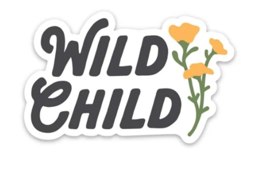 Keep Nature Wild KNW-Wild Child Sticker