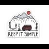 Keep Nature Wild Keep It Simple Sticker