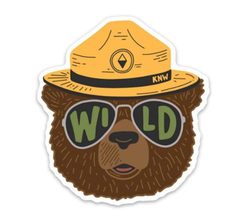 Wildbear Sticker