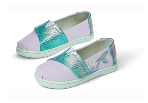 TOMS TOMS Tiny TOMS Classics Canvas Iridescent Snake
