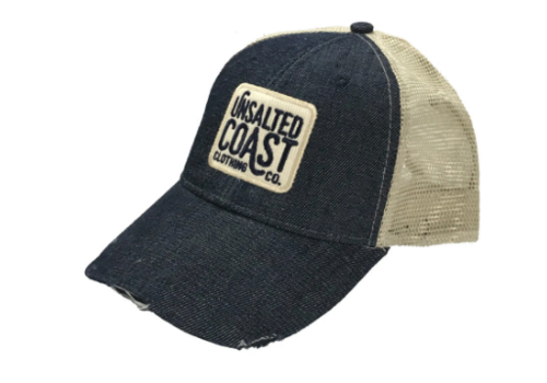 Unsalted Coast Unsalted Coast Logo Patch Trucker