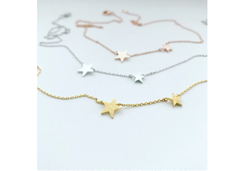 Musthavemustget Must Have Double Star Necklace