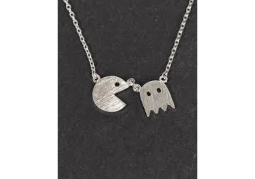 Musthavemustget Must Have Pac Man Necklace