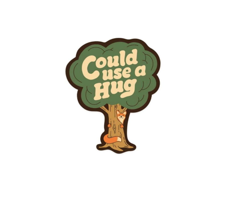 KNW -Could Use a Hug Sticker