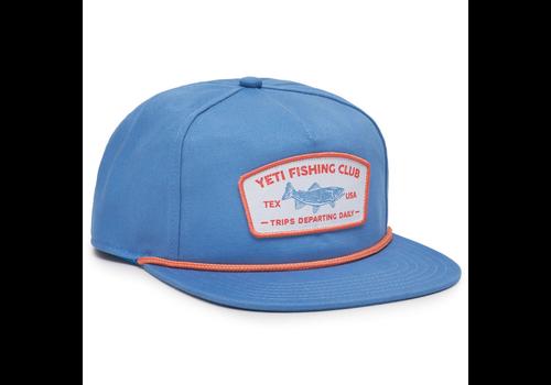 Yeti Yeti Fishing Club Rope Hat, Pacific Blue