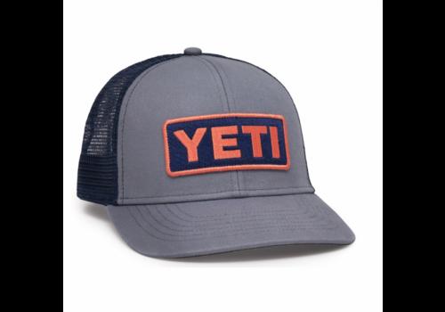 Yeti Yeti Logo Badge Trucker Hat