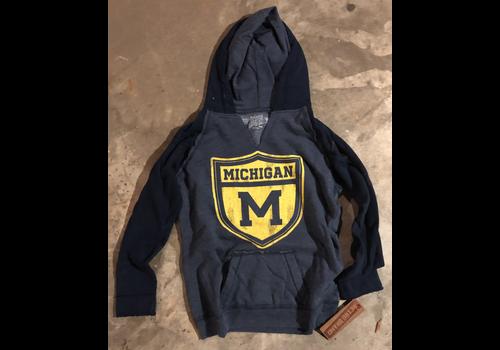 Retro Brand Retro Brand Michigan Slit Neck Hoodie