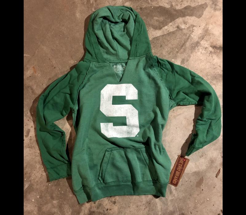 Retro Brand Spartan Slit Neck Hoodie