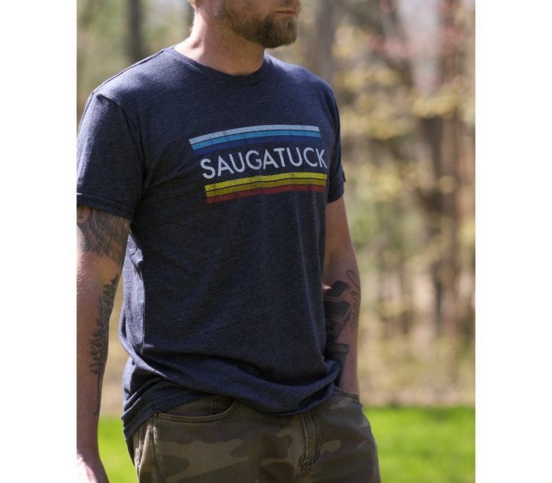 Retro Brands M's Saugatuck Rainbow