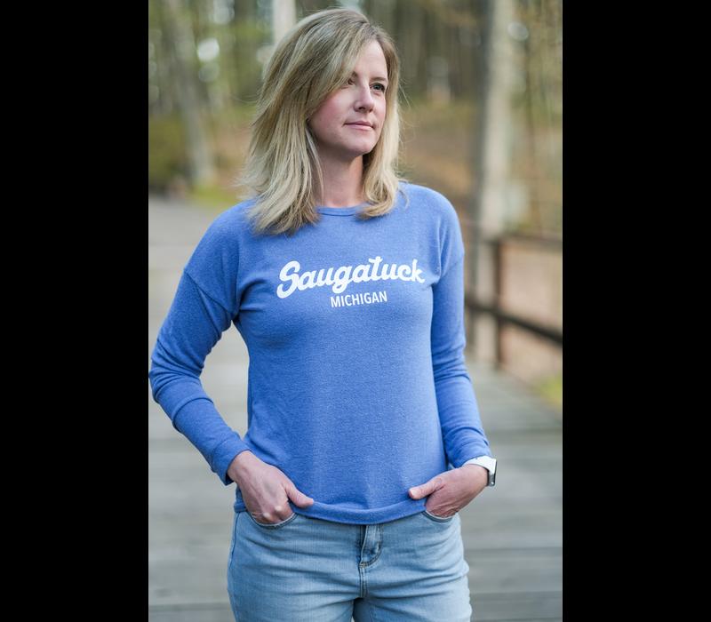 Retro Brand LS Classic Saugatuck Women's Sweatshirt