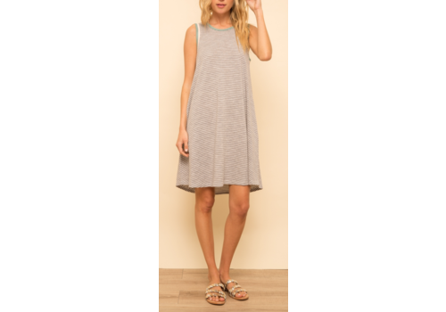Hem & Thread Hem & Thread Stripe A-Line Dress