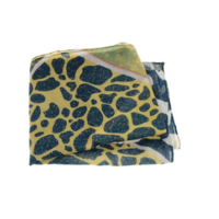 Joy Susan 90x180 Gold Animal Safari Scarf
