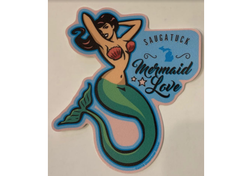 Steamboat Sticker Steamboat Sticker Mermaid Love