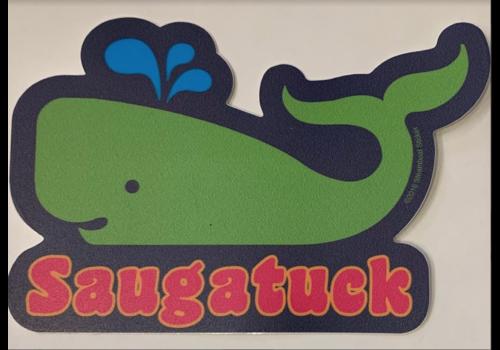 Steamboat Sticker Steamboat Sticker Saugatuck Whale