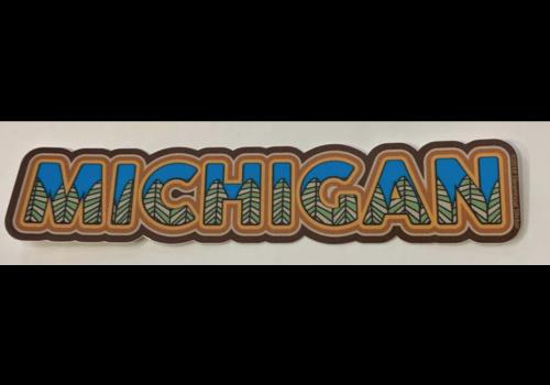 Steamboat Sticker Steamboat Sticker Woodland Fill Michigan