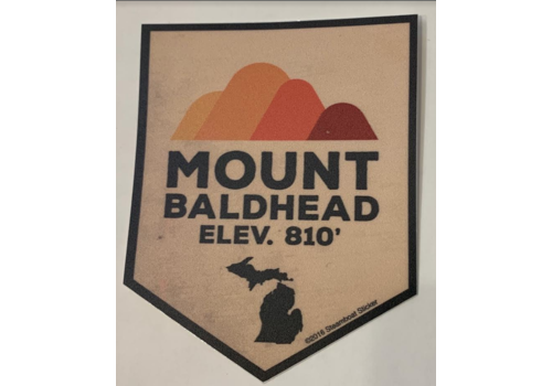 Steamboat Sticker Steamboat Sticker Mount Baldhead