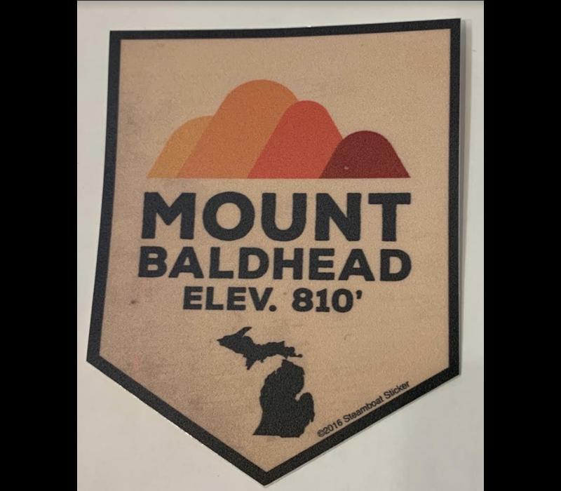 Steamboat Sticker Mount Baldhead