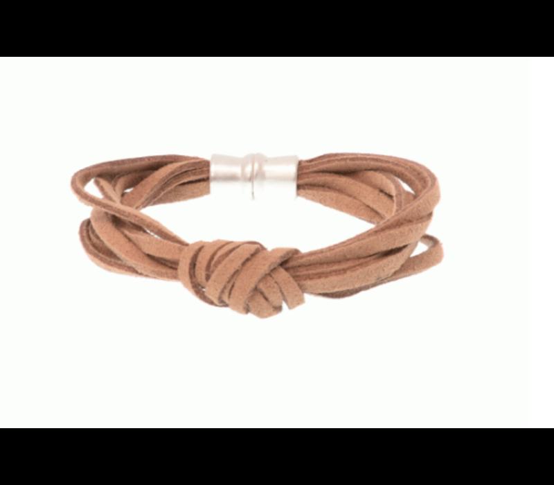 Joy Susan Suede Knot Bracelet