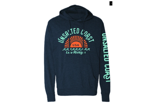 Unsalted Coast Unsalted Coast Sunburst T-Shirt Hoodie