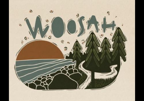 Woosah Woosah Juan De Fuca Print 16x20