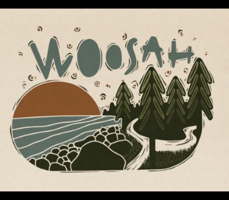 Woosah Juan De Fuca Print 16x20