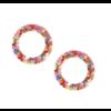 Joy Susan Joy Susan Pink Confetti Post Earrings