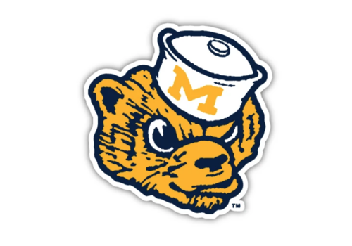 The Mitten State The Mitten State UofM Wolverbear Sticker