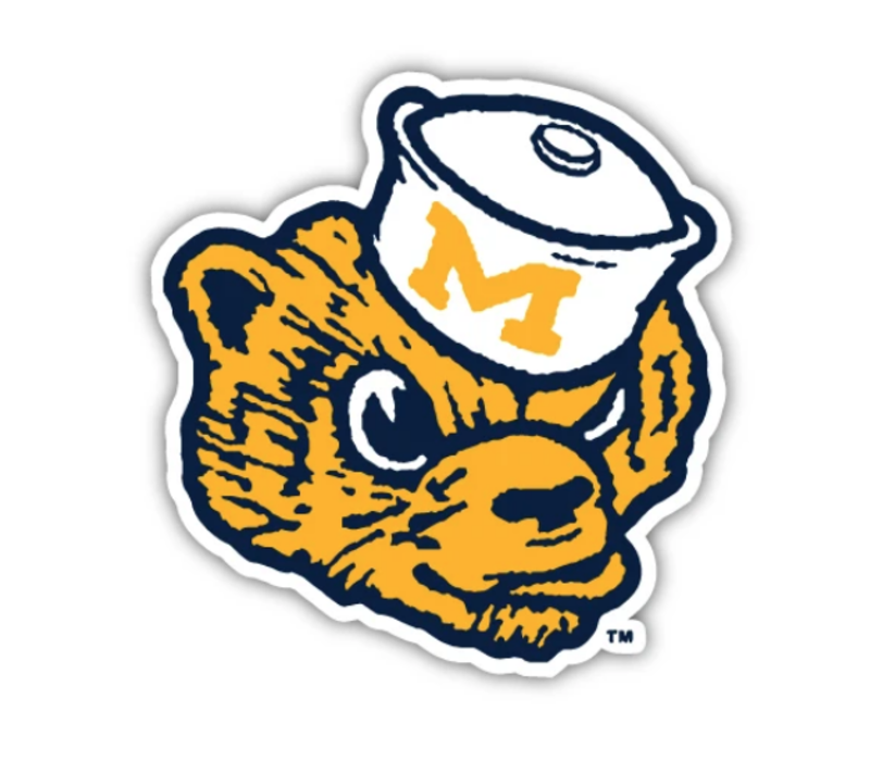 The Mitten State -Wolverbear Sticker