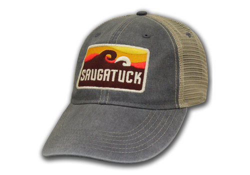 Ouray Sportwear Ouray Sportswear Saugatuck Groove Wave Patch Trucker