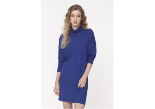 Isle Apparel Isle Apparel T-Neck Shift Dress