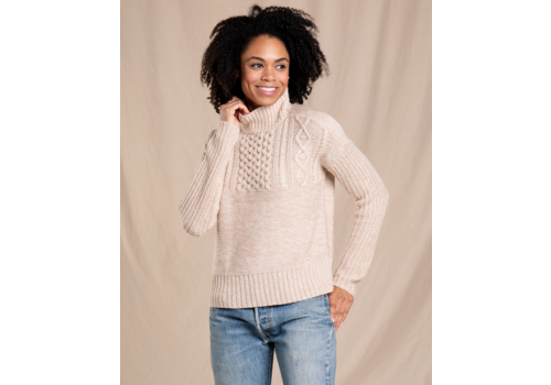Toad & Co Toad & Co Tupelo Cable Sweater