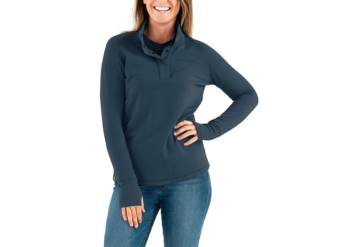 Free Fly Free Fly W's Bamboo Thermal Fleece Pullover