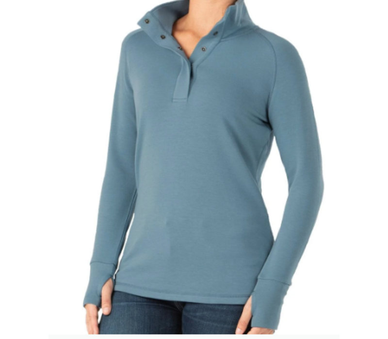 W's Bamboo Thermal Fleece Pullover