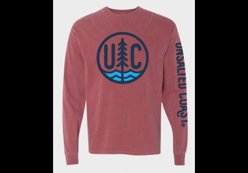 Unsalted Coast Unsalted Coast Cotton L/S Tee w/ UC Circle Logo