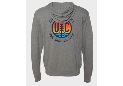 Unsalted Coast Unsalted Coast L/S Hoody Life Should Be This Simple